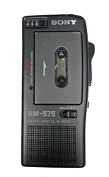 Sony Model Bm 575 Voice Activated Micro Cassette Recorder