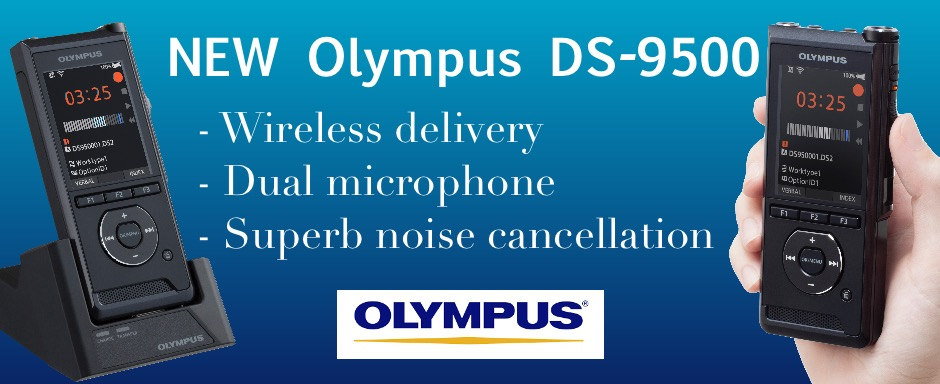 Olympus DS9500 WiFi recorder