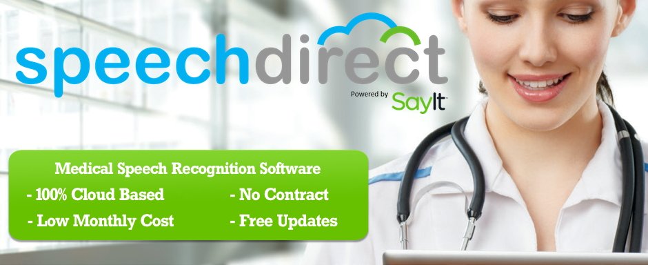speechdirect recognition software
