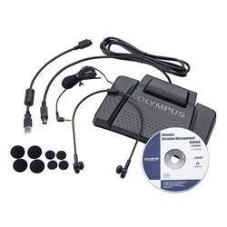 Olympus AS7000 Professional Digital Transcription Kit