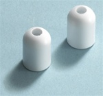 White Plastic Ear Tips for the SH-50 Headset