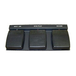 Hands Free DA-114 Station Dictation Foot Pedal