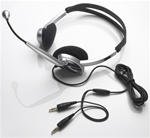 Overhead Multimedia Headset With Microphone - Stereo