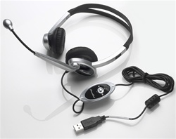 Multimedia Headset With Microphone - USB