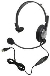 ANDREA NC-181VM USB Speech Recognition Dictation Headset
