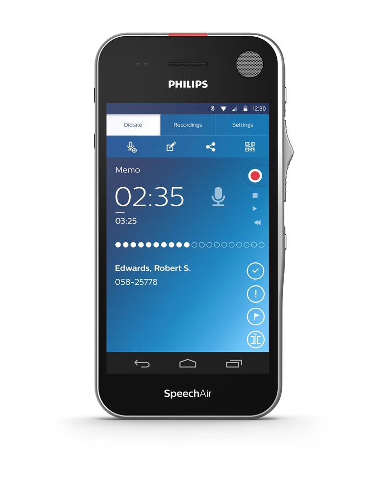 Philips Speechair Dictation Recorder With Wifi And Touch